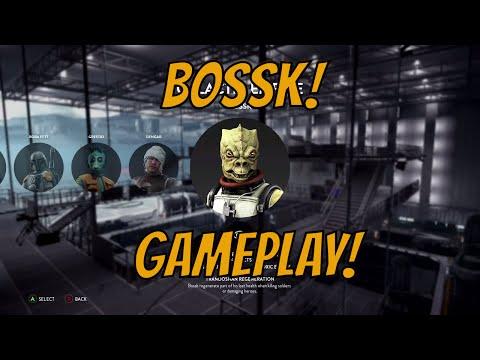 Star Wars Battlefront Death Star DLC - Bossk Gameplay