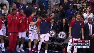 2nd Quarter, One Box Video: Washington Wizards vs. Miami Heat