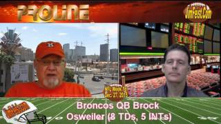 Bengals vs. Broncos NFL Monday Night Football Preview + Free Pick, Dec. 28, 2015