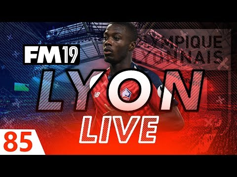 Football Manager 2019 | Lyon Live #85: FRENCH CUP FINAL #FM19