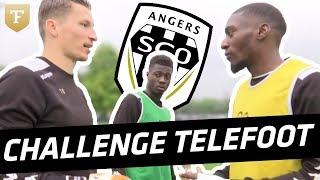 Challenge : Les joueurs du SCO d'Angers et le challenge de la barre