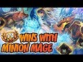 12 wins with minion Mage