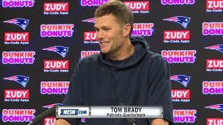 Tom Brady on the Bye Week and having Gronk back