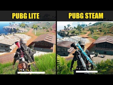 pubg-lite-vs-pubg-steam-(graphics-&-fps-comparison-sanhok)