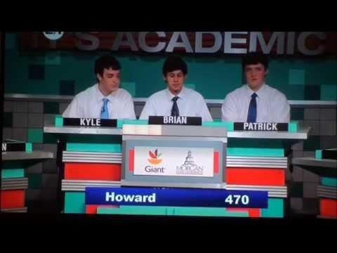 It's Academic NorthernHowardParkville Match