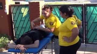 Ministros Voluntarios de secta Scientology explotan inundados en La Plata 14 de Abril 2013