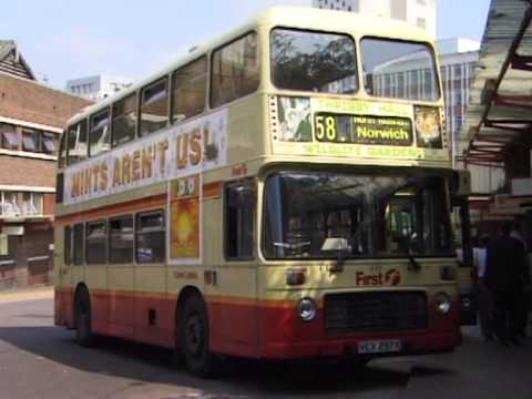 NORWICH BUSES AUG 2000