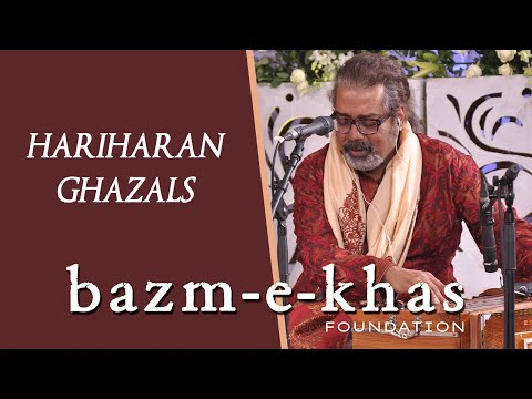 HARIHARAN | Ghazals | live concert- full |Bazm e Khas