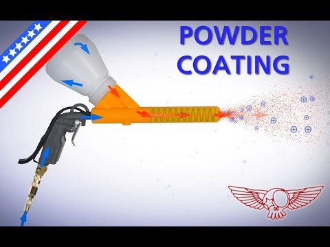 Learn how to do powder coating, what is it and how does it  works - 06 - RCB quick tutorial