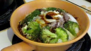 Beef And Broccoli Clay Pot Rice Recipe  (hot Pot Rice)  Traditional Chinese Cooking
