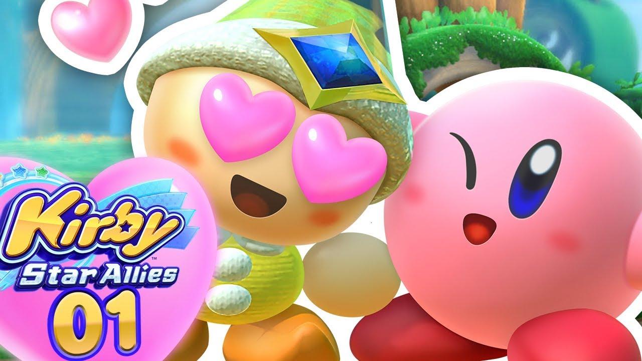 Les Nouveaux Amis De Kirby Kirby Star Allies 1