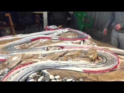 Maqueta Scalextric Rally Montecarlo