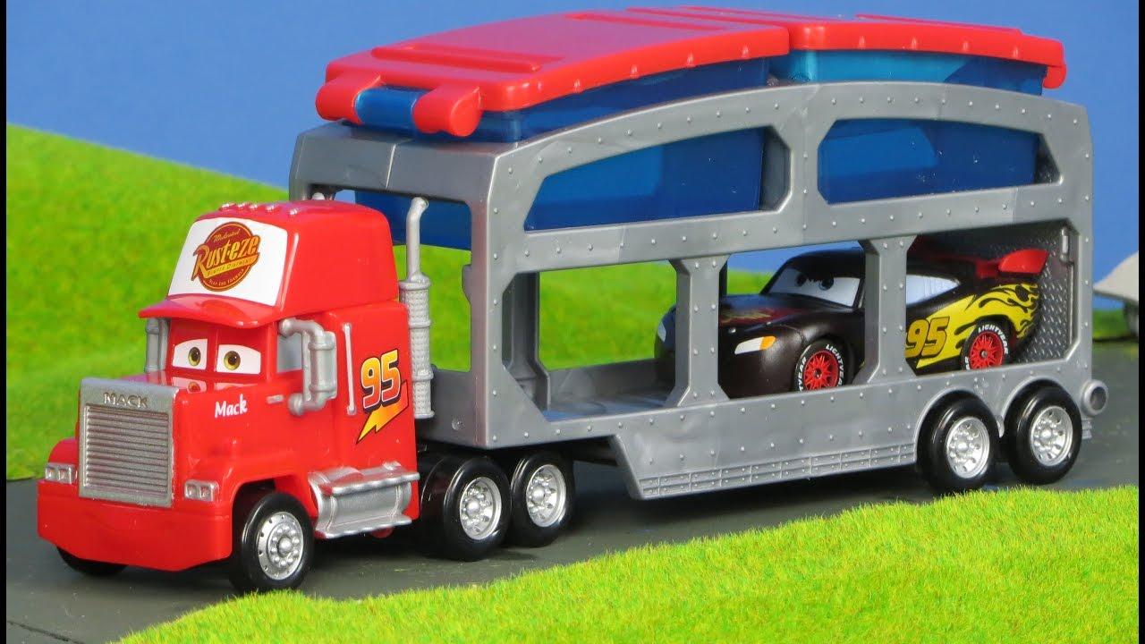 Disney Pixar Cars Unboxing Deutsch Lightning Mcqueen Mack