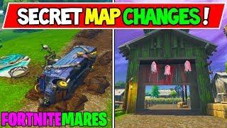 *NEW* FORTNITEMARES SECRET MAP CHANGES! (v6.21 Fortnite Season 6 Storyline Week 5!)