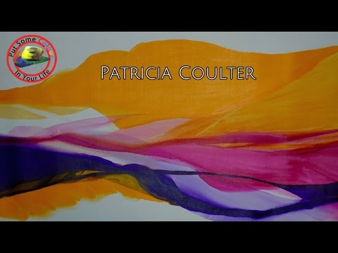 Make fascinating Abstracts with Patricia Coulter | Colour In Your Life