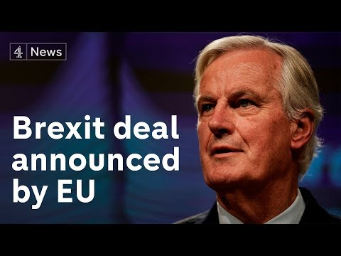 EU announces Brexit deal has been agreed with Boris Johnson | Full Press Conference