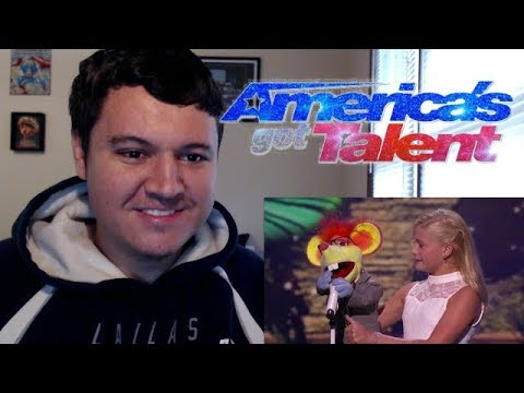 Thumbnail: Darci Lynne: 12-Year-Old Ventriloquist Dedicates Song to Mel B - America's Got Talent 2017 Reaction!