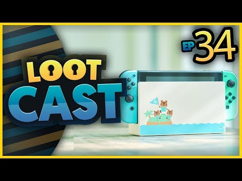 New Animal Crossing Switch Announced, Switch Outsells Snes, Pokemon Home & More | LootCast Ep34