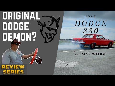 1963 Dodge 330 MAX WEDGE, OG Dodge Demon?! [4k] | REVIEW SERIES