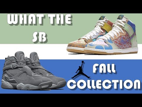 SPIKE LEE 1 RELEASE DETAILS, NIKE SB DUNK WHAT THE, AIR JORDAN FALL COLLECTION & MORE!!