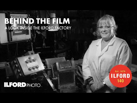 This short movie gives an inside look into how Ilford makes its iconic black and white film