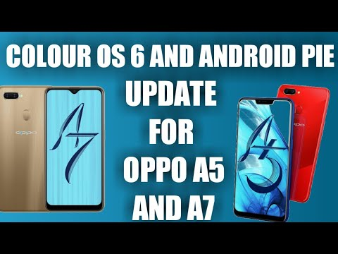Colour os 6 and Android pie update for oppo a5 and a7 | OPPO A5 PIE UPDATE  | OPPO A7 PIE UPDATE