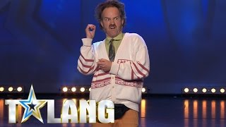 Video Weird and hilarious man auditioning in Sweden's Got Talent - Talang 2017. download MP3, 3GP, MP4, WEBM, AVI, FLV September 2017