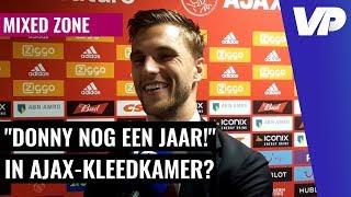 """Veltman plaagt 'Real-target' Van de Beek: """"Daar moest hij wel om lachen"""""""