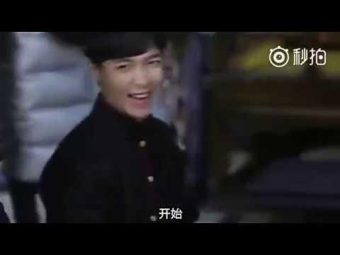 Cute Er Yue Hong 😍 Zhang Yixing - The Mystic Nine BTS