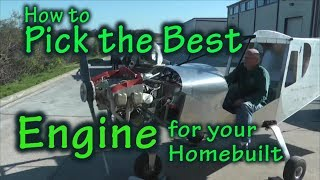How to Pick the Best Engine for your Experimental Aircraft