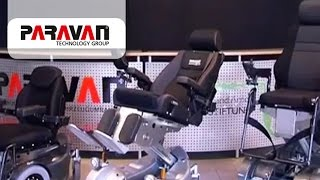 Die evolutionäre Paravan Elektrorollstuhlkollektion (Rollstuhlkollektion)