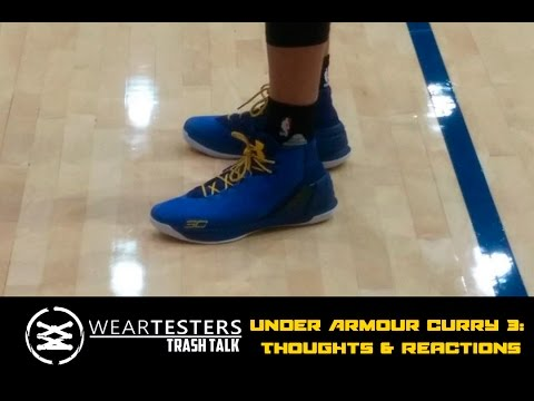 online store 7df1c 6eea7 WearTesters Trash Talk  Under Armour Curry 3