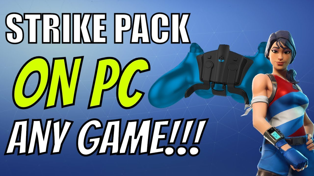 NEW* FPS DOMINATOR STRIKE PACK ON ANY PC GAME! Works with Fortnite