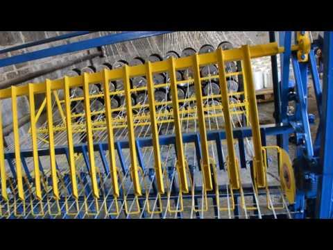 Линия для производства композитной дорожной сетки