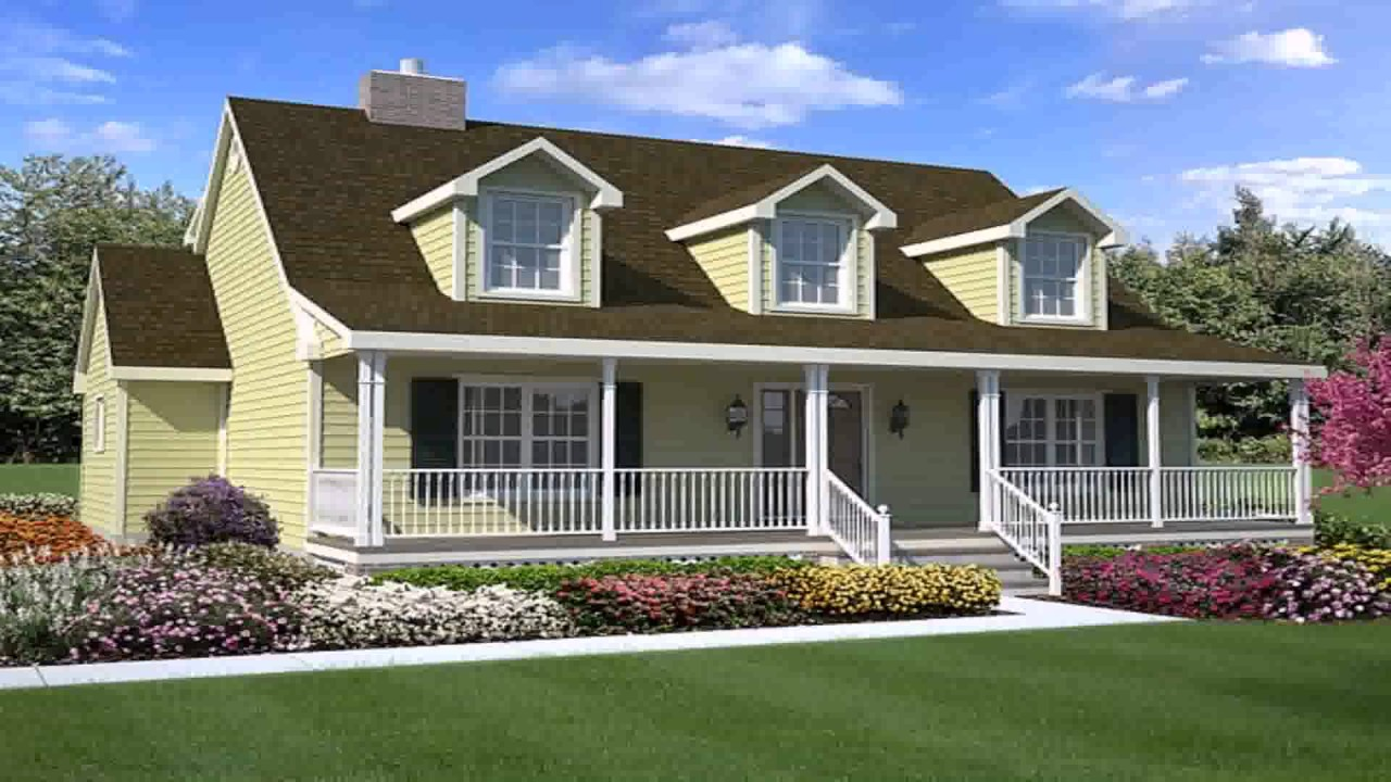 Cape cod style house plans with dormers youtube for Cape cod style house plans