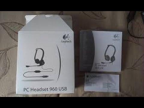 LOGITECH PC HEADSET 960 USB - YouTube f2261aaf05