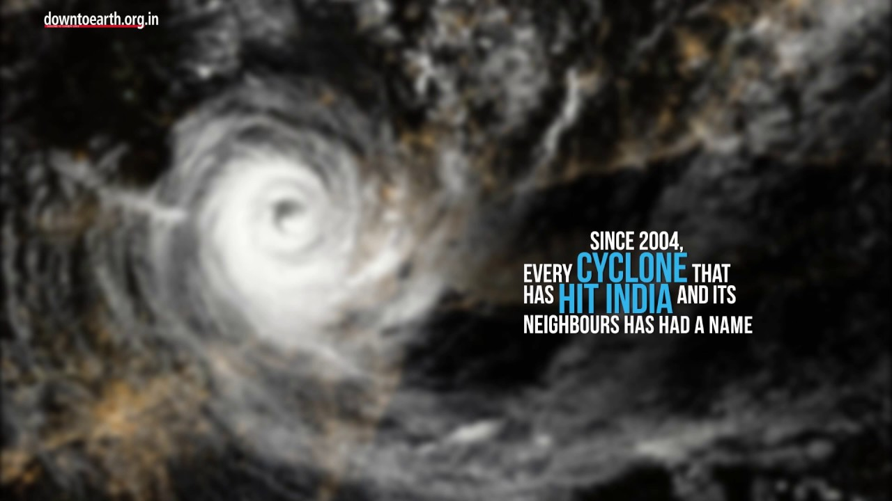 How do cyclones get their name?