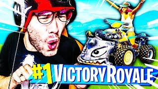 PREMIER TOP 1 AVEC LE NOUVEAU QUAD FORTNITE BATTLE ROYALE !!!