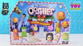DC Comics OOSHIES Advent Calendar Batman Wonder Woman Squishy Toy Review | PSToyReviews