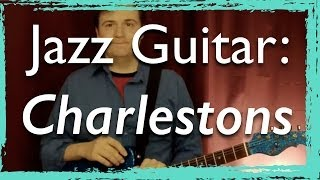 Jazz: Charlestons Rhythms Exercises - for Jazz Guitar