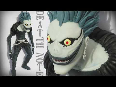 "Thumbnail: RYUK DEATH NOTE ""TUTORIAL"" ✔POLYMER CLAY (REUPLOADED)"