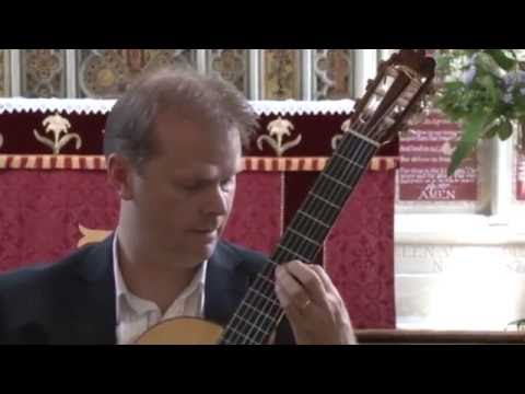 Wedding Guitar Music - Un Sueno En La Floresta (Barrios), played by Jon Pickard