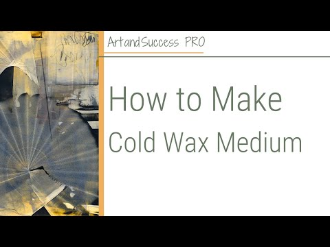 Pamela Caughey - How to Make Cold Wax Medium - WINNERS Announced!