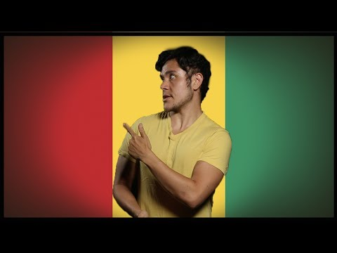 Flag/ Fan FRIDAY! Guinea (You know what's coming) (Geography Now)