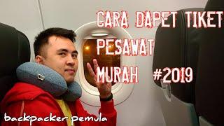 Tips Dapet TIKET pesawat Murah ke Luar Negri 2018 [Travel Vlog] #daylie