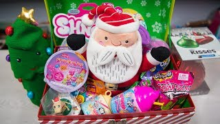 HUGE Surprise Christmas Toy Chest Santa Claus Surprise Egg Blind Bags Toys for Girls Kinder Playtime
