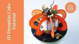 3d Pumpkin Cake Tutorial