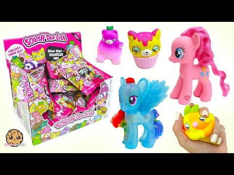 Squishy Squish Dee Lish Animals Surprise Blind Bag Squishes  Mystery Toys Haul