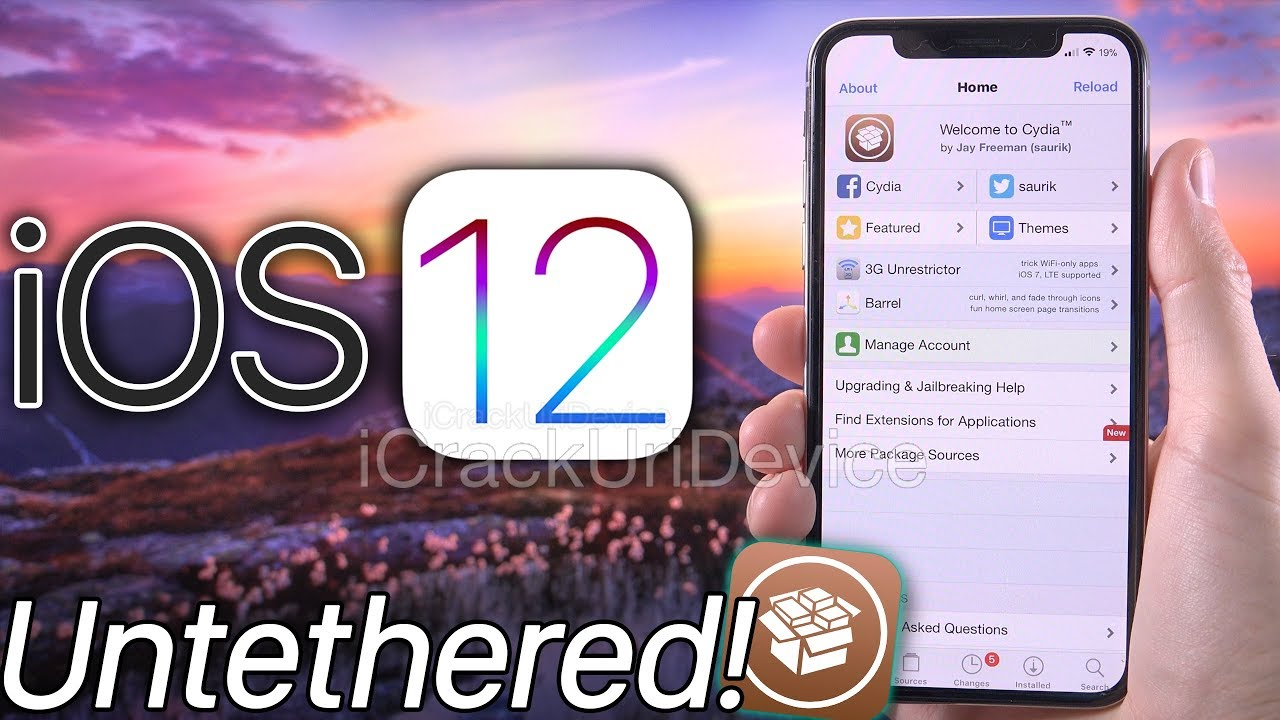 Jailbreak iOS 12 UnTethered DEMO! OverSky & iOS 12 0 Analysis