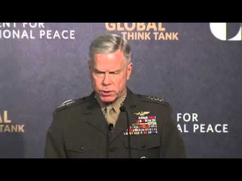 General James F. Amos on Military Positioning in a Time of Transition